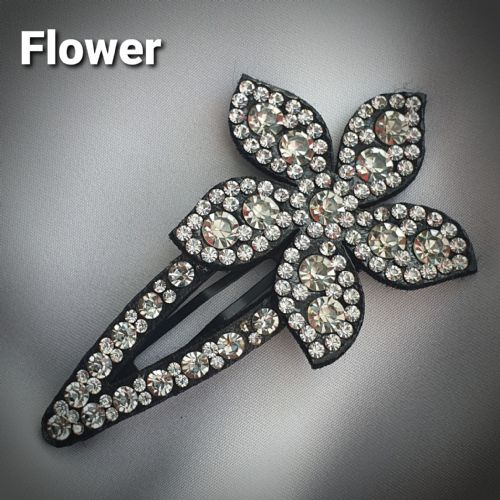 Flower Snappy Clip